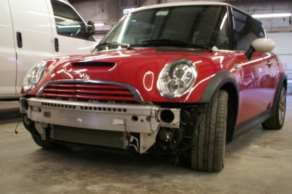 Dealership Mini Cooper – Before