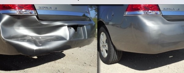 Body Repair – Before And After